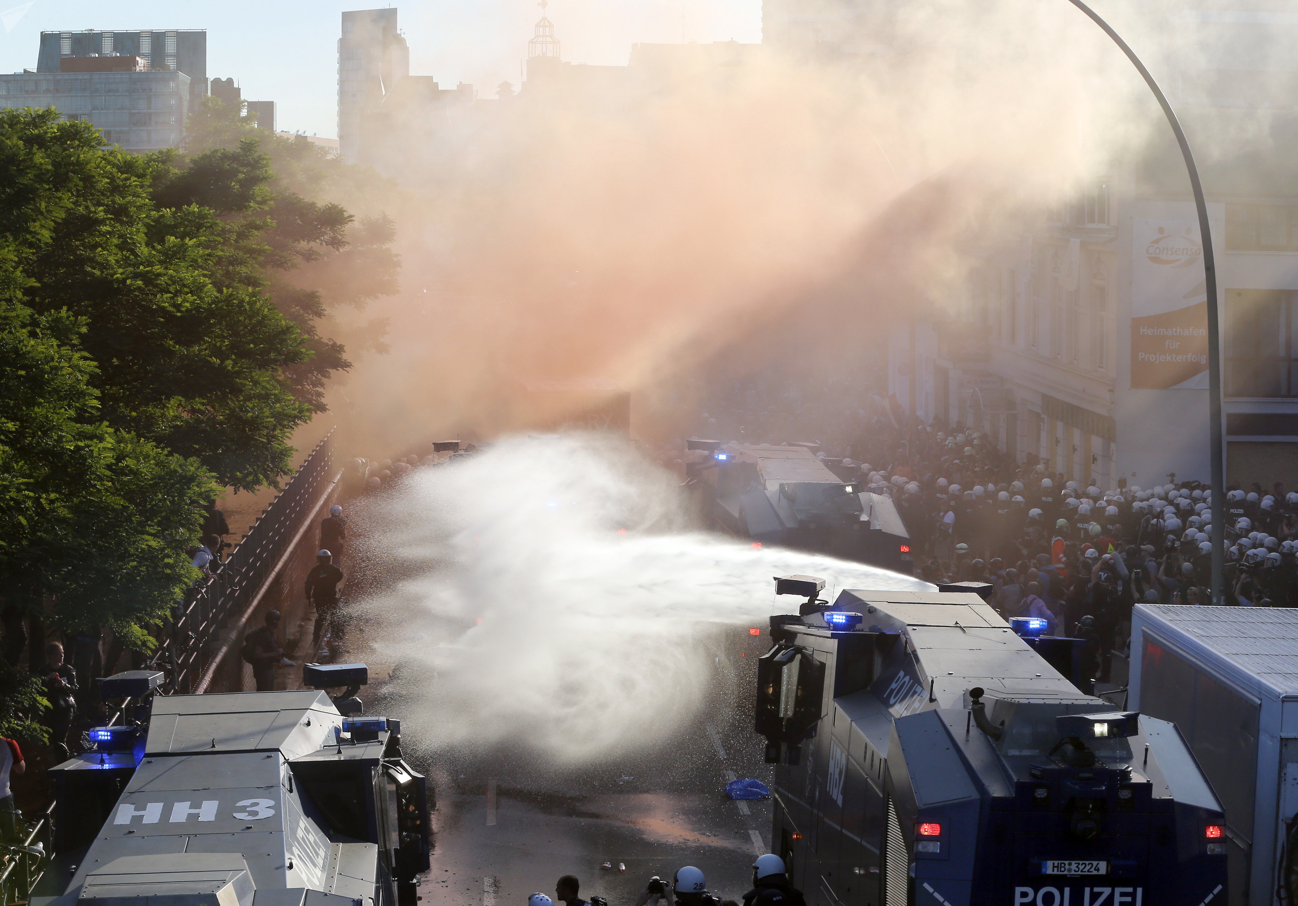 G20 Protest in Germany