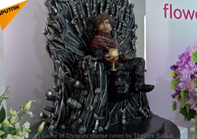 32 Kg Game of Thrones Cake Made in Dubai