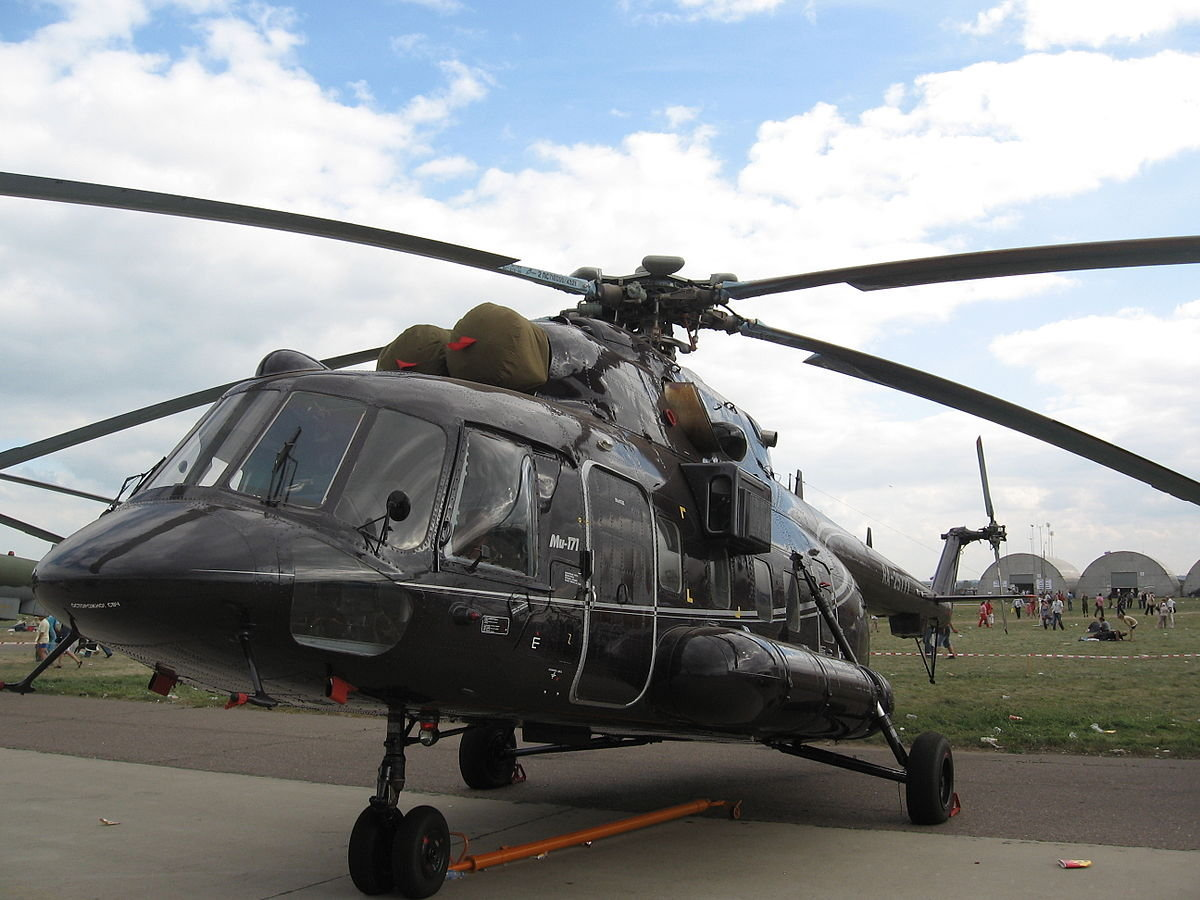 The Mil Mi-171 helicopter