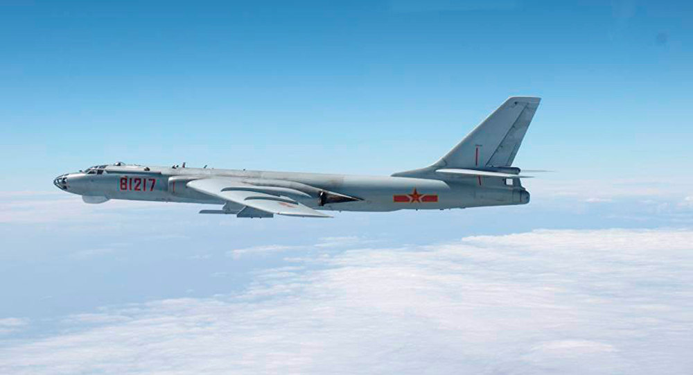 Image result for China Says Japan Should 'Get   Used To' Bombers  Buzzing Their Airspace