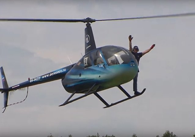Helicopter World Cup Kicked Off in Russia For the First Time