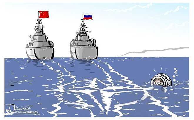 Russian-Chinese Naval Exercises Kick Off in Baltic Sea