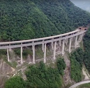 Check Out The World's Longest Concrete Tubular Bridge