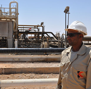 Syria's Arak Gas Field in the Central Province of Homs