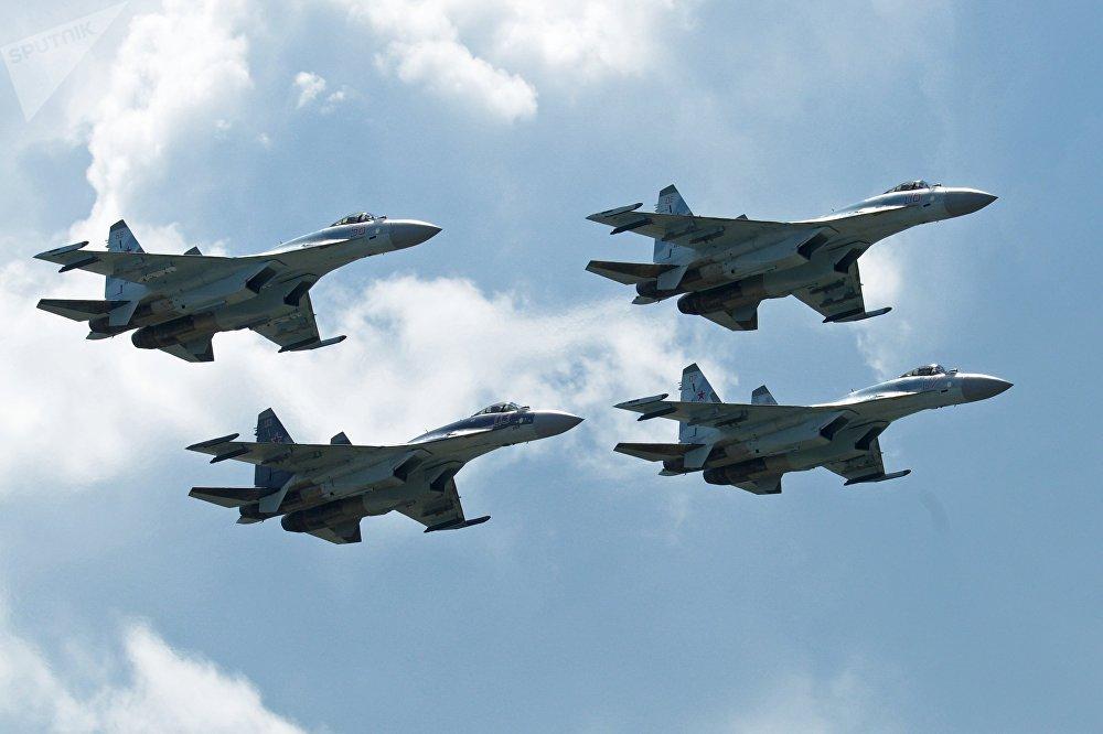 Aerial Skills at MAKS 2017: Air Show Highlights