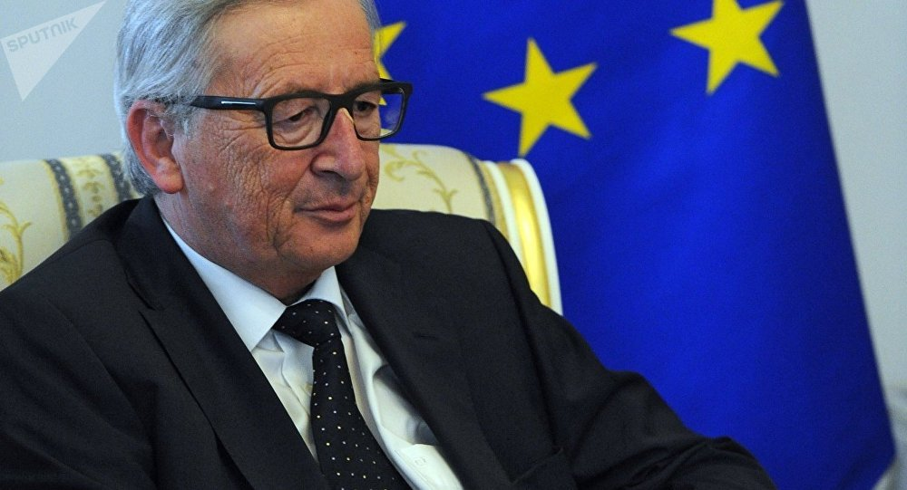 President of the European Commission Jean-Claude Juncker speaks at the SPIEF 2016