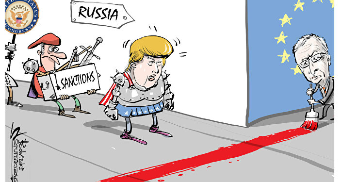Image result for cartoons on sanctions bill on russia, iran and north korea august 1, 2017