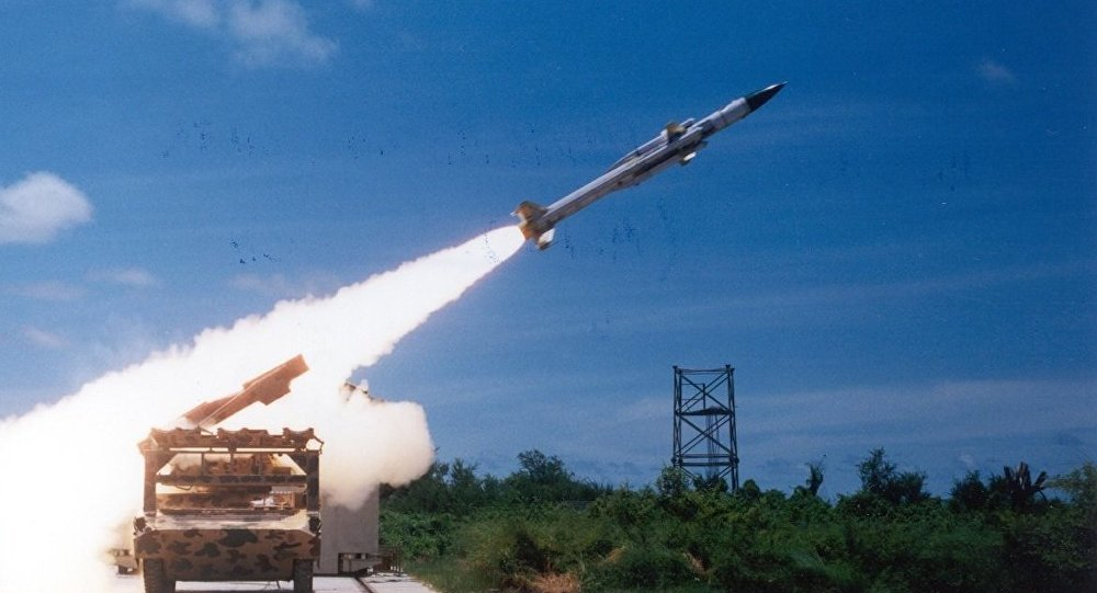 Test fire Akash missile. (File)
