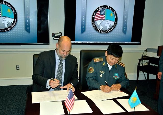 US-Kazakh military cooperation