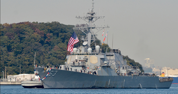 US Navy identifies missing sailor on USS Stethem