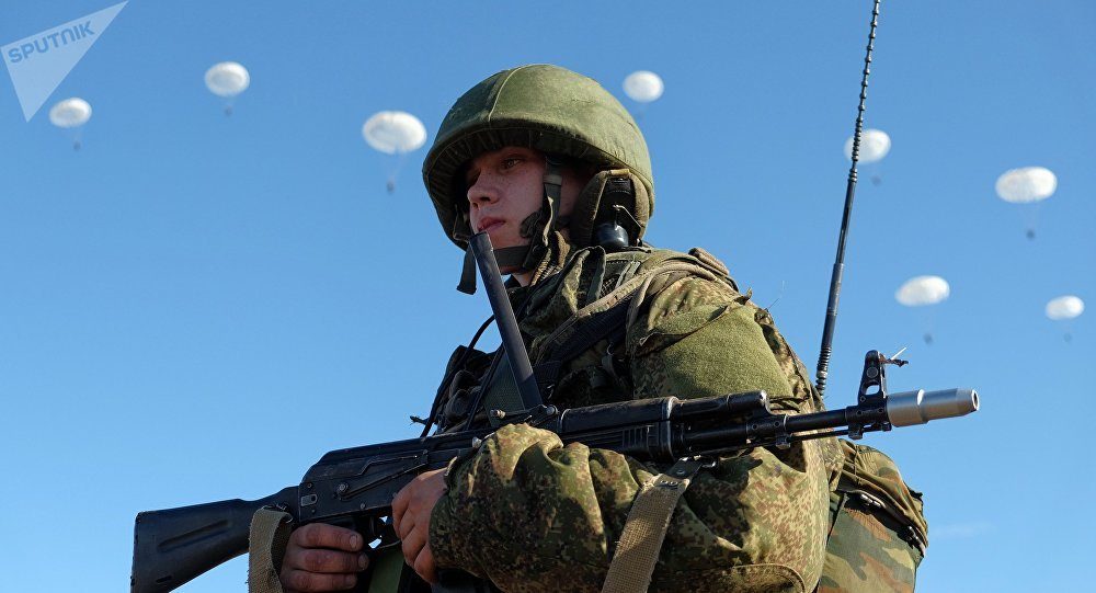 Airborne Forces drill in Ulyanovsk Region