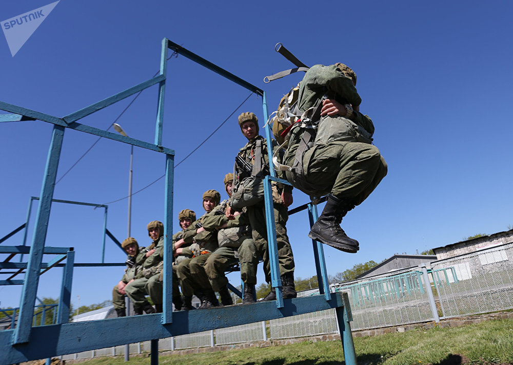 """Nobody But Us!"" Russian Paratroopers Celebrate Professional Holiday"