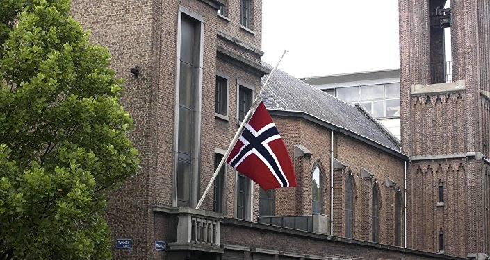 Norwegian flag. (File)