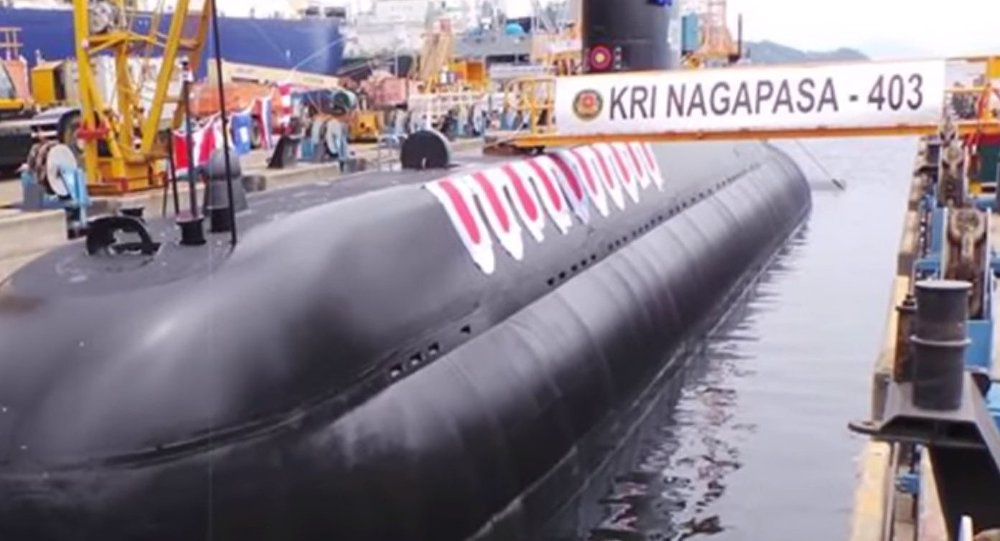Indonesian Navy's KRI Nagpasa Submarine