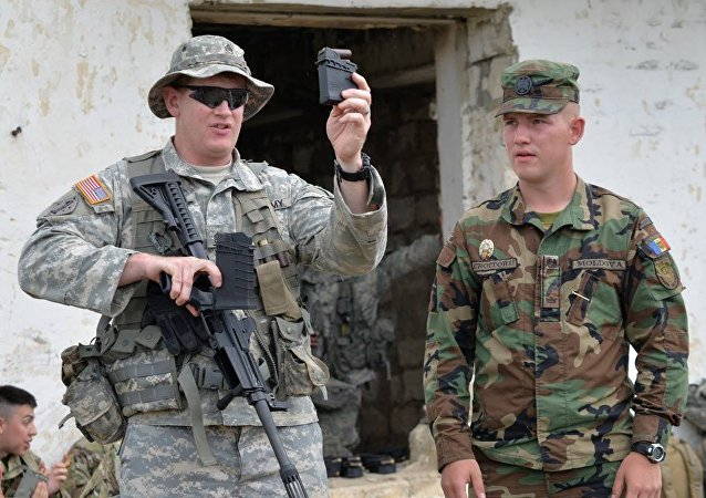 The Moldova-US military exercises Dragoon Pioneer 2017 (File photo).
