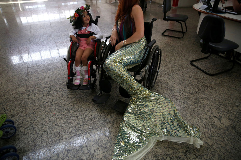 Half Fish, All Woman: Charming Mermaids Take to Life in Brazil