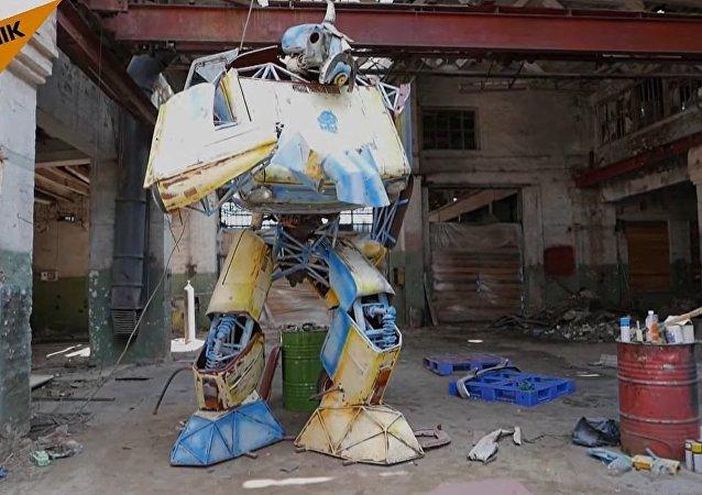 Transformer Ukrobot Created In Odessa
