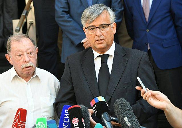 Spanish Ambassador to Russia Ignacio Ybanez Rubio
