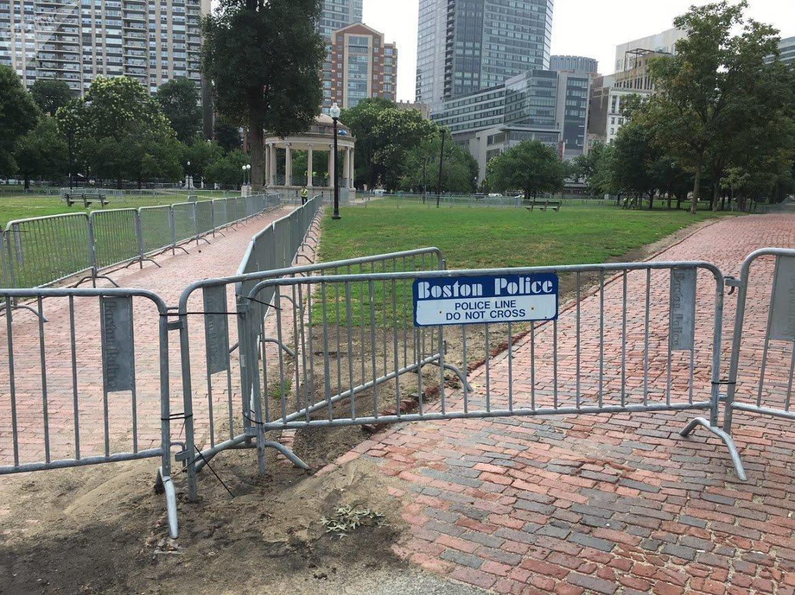 Protests in Boston