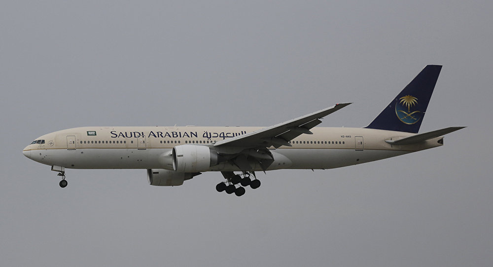 Passenger aircraft of the Saudi Arabian Airlines