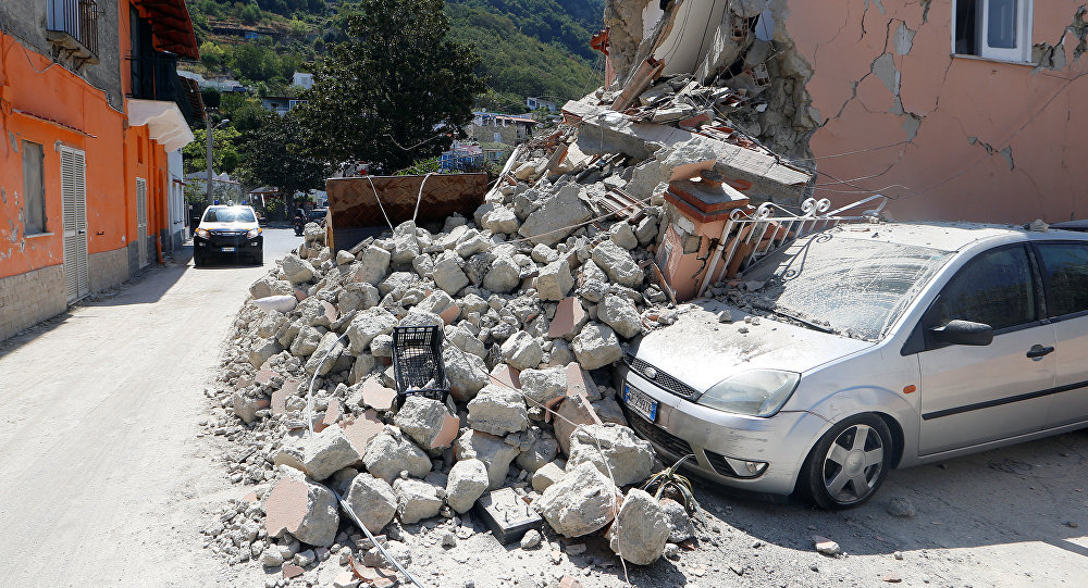 Magnitude readings vary widely on Italy quake