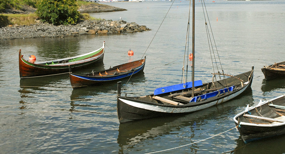 Traditional Norwegian boats