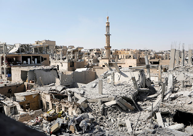 Damaged buildings are pictured during the fighting with Islamic State's fighters in the old city of Raqqa, Syria, August 19, 2017