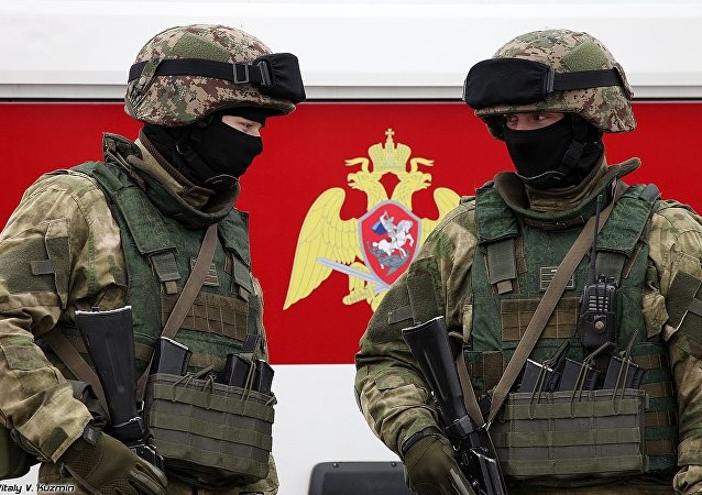 National Guards Troops