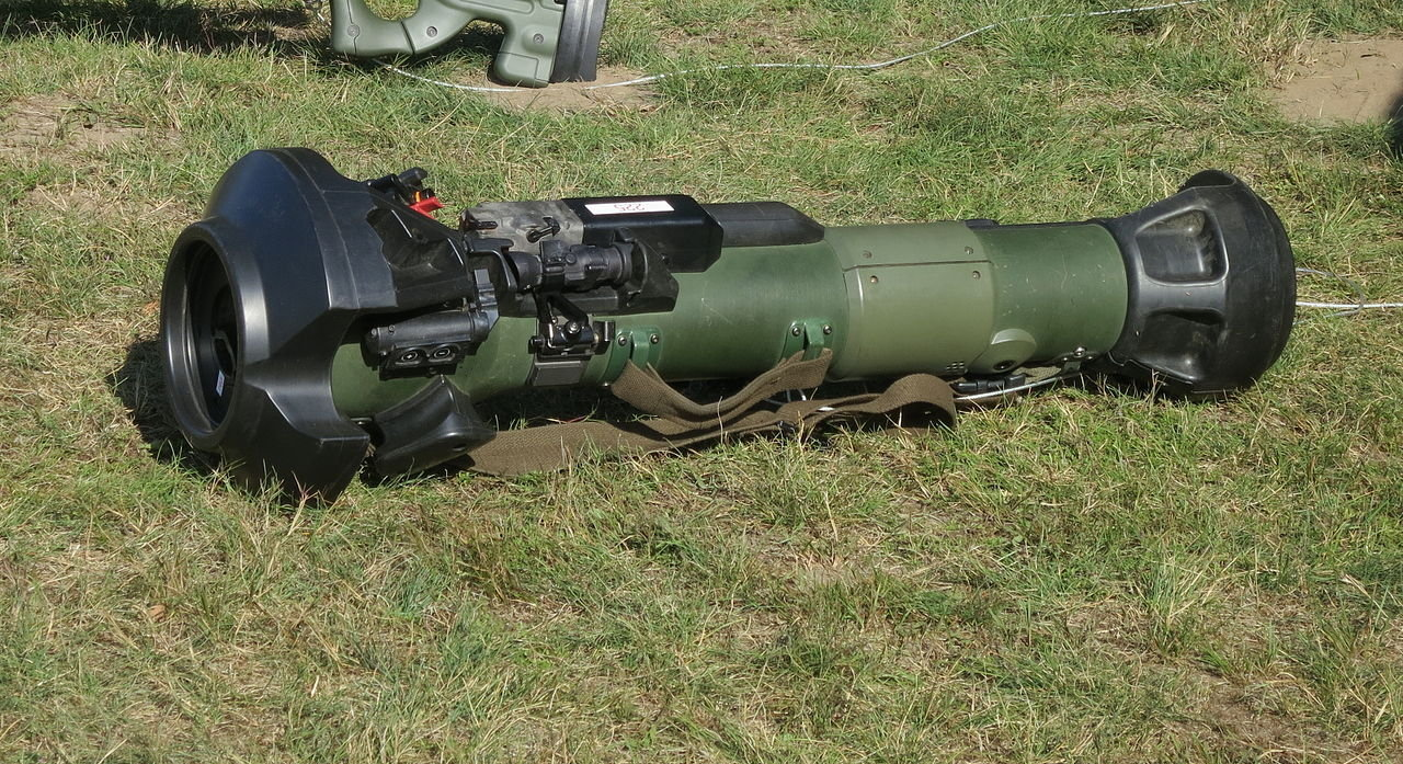 The MTB LAW anti-tank missile system