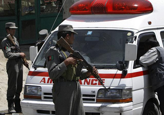 Afghan ambulance. (File)
