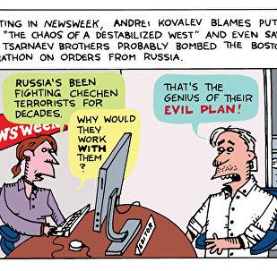 Kovalev Newsweek Cartoon