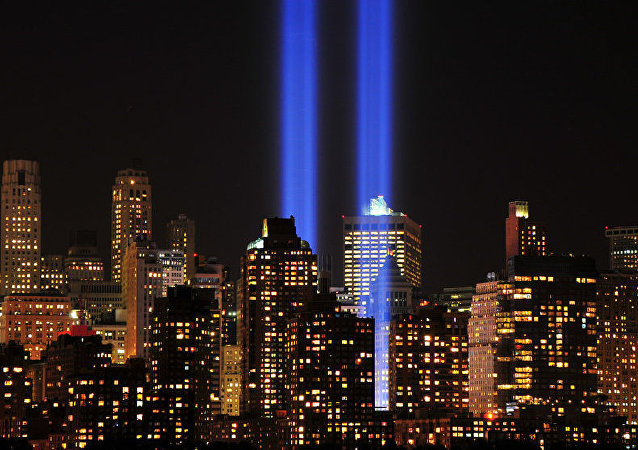 World Trade Center 9-11 Tribute of Light 2012