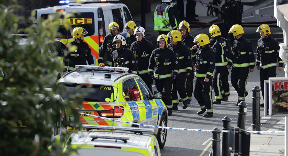 Manhunt in London after subway explosion injures at least 23 people