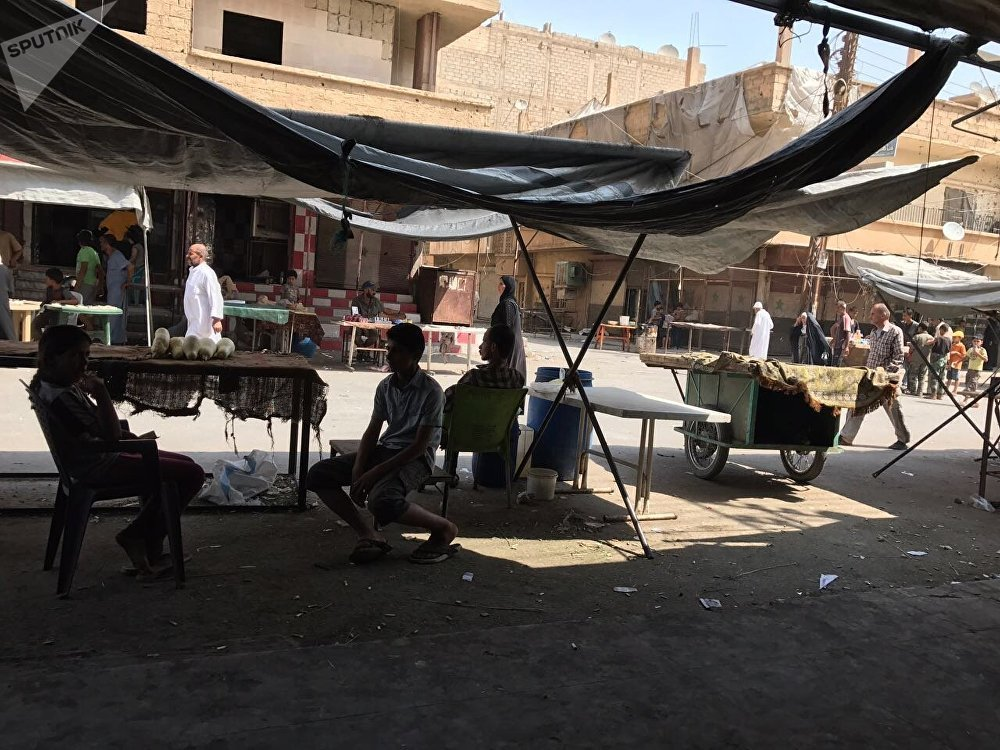Back to Normal: Images of Peaceful Life in Liberated Deir ez-Zor