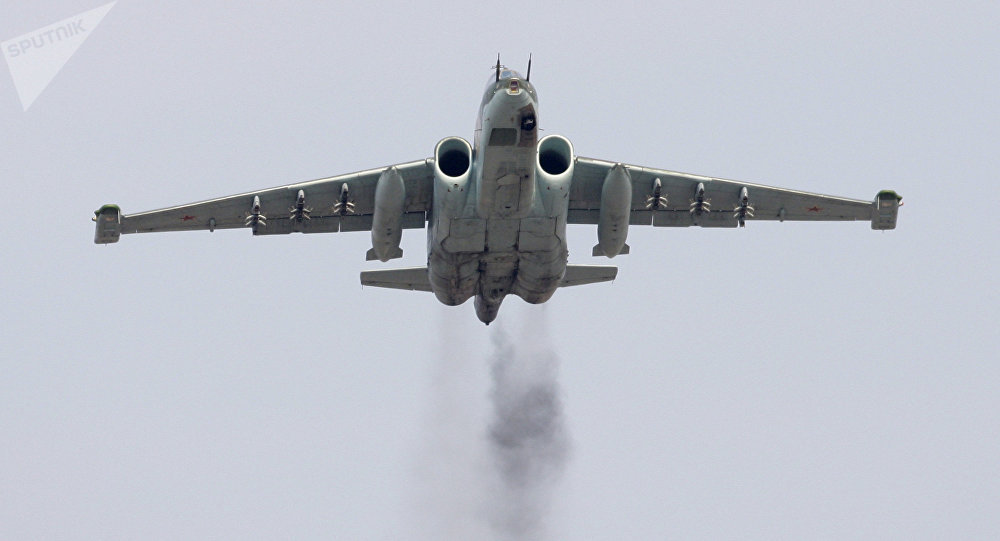 Su-25SM attack aircraft