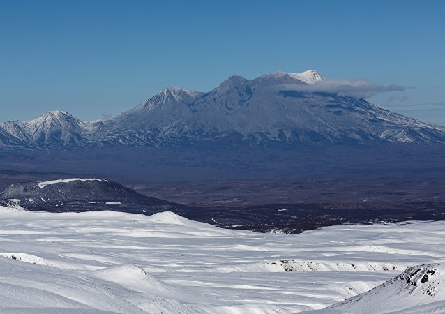 Zhupanovsky Volcano in Kamchatka. File photo