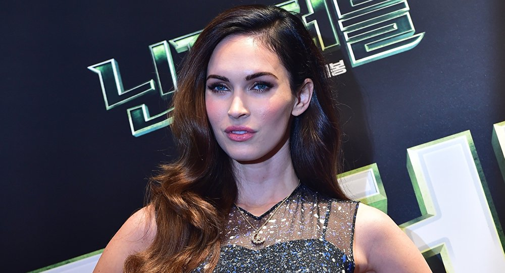 Actress Megan Fox poses for a photo during a press conference to promote new film Teenage Mutant Ninja Turtles in Seoul. (File)