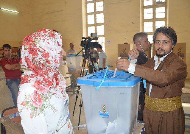 Iraqi Kurdistan independence referendum