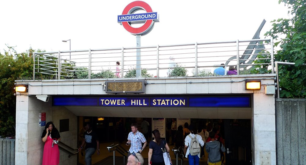 Tower Hill station. (File)