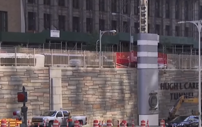 Mysterious Metal Towers Pop Up in New York, But Officials Won't Offer Details