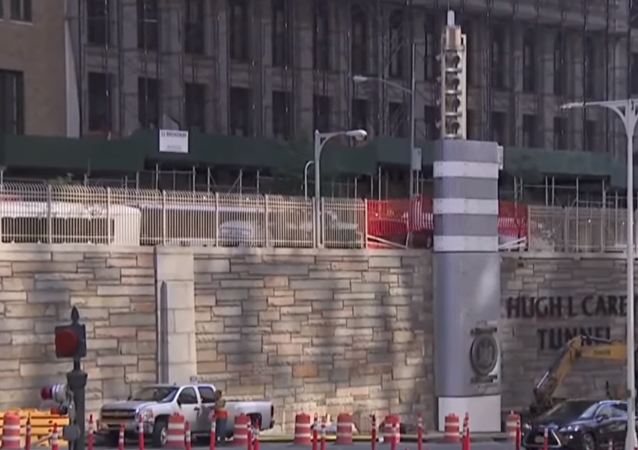Mysterious metal towers are popping up in New York City