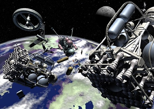 Moon Space Ships