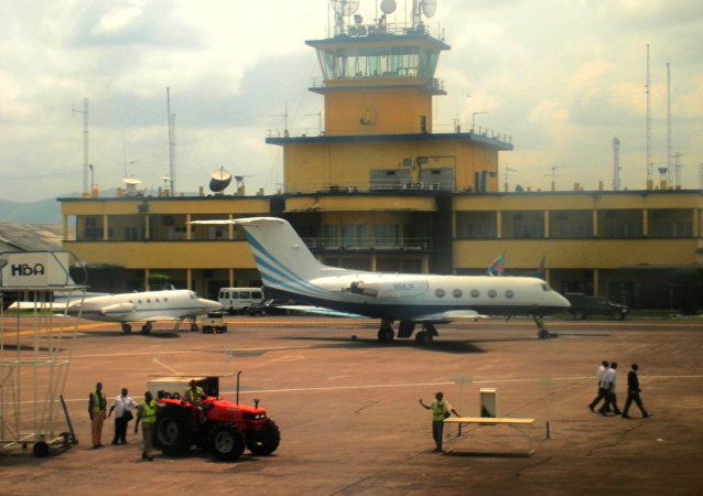 International airport of Kinshasa. File photo