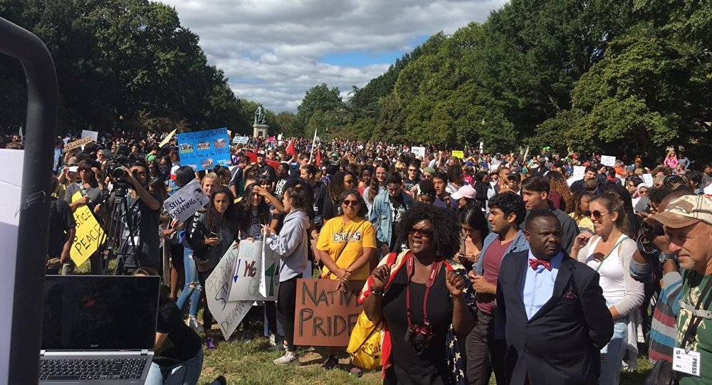 March to demand an end to racial injustice in the Unitеd States.