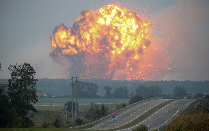Ukrainian Army Lost More Shells in Ammo Depot Fire Than in 3 Year Civil War