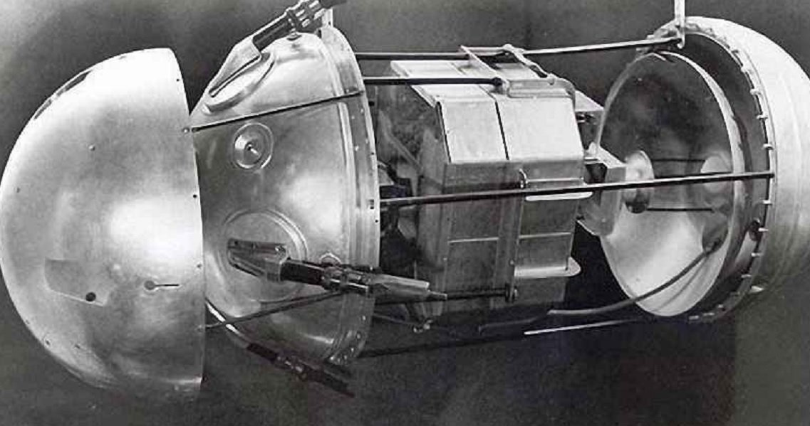 The Earth's first Soviet artificial satellite. (File)