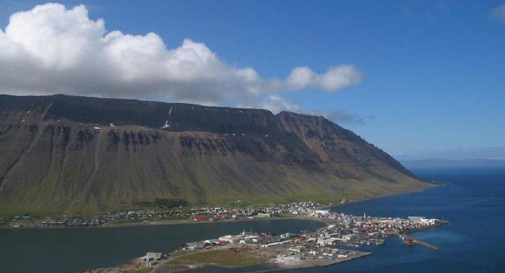 Isafjordur view