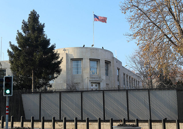 US Embassy in Ankara. (File)