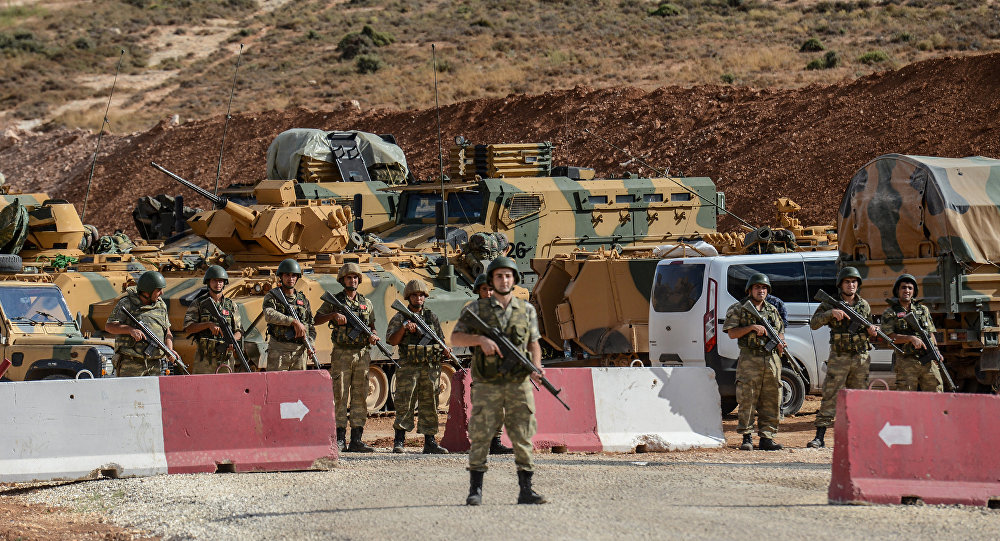 Turkish military begins setting up observation posts in Idlib, Syria