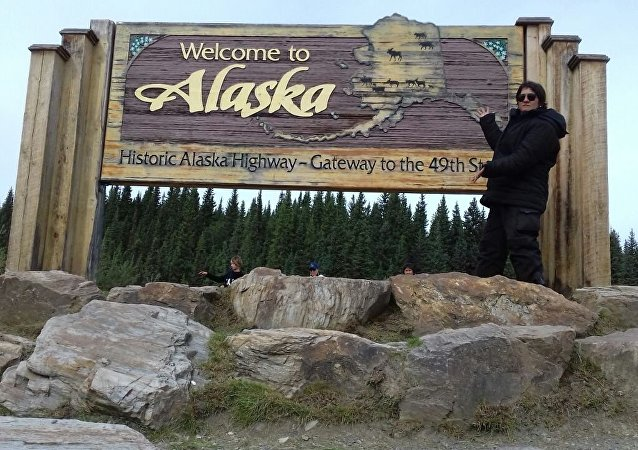 Gean Neide Andrade arrives to Alaska